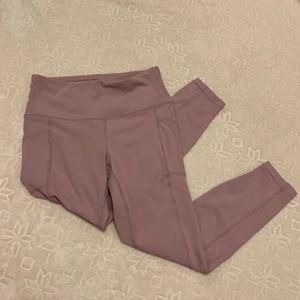 90 Degree By Reflex Pants - PINK LULU ISH LEGGINGS FULL LENGTH